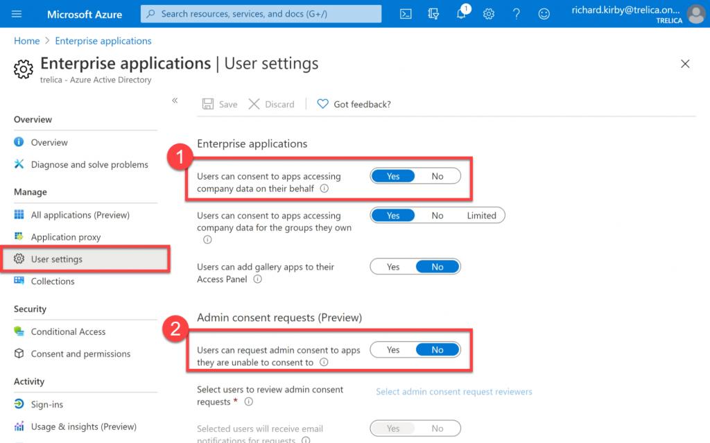Blocking apps in Microsoft 365